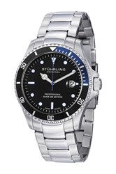 Stuhrling Men's Regatta Elite Bracelet Watch Metallic