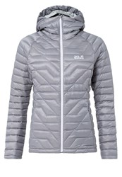Jack Wolfskin Argo Supreme Down Jacket Alloy Light Grey
