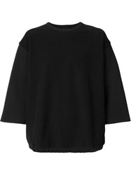 Mr. Completely Oversized T Shirt Black