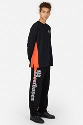 Opening Ceremony Beethoven Cut Off Sweatpants Black Multi