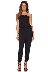 Eight Sixty Necklace Jumpsuit Black