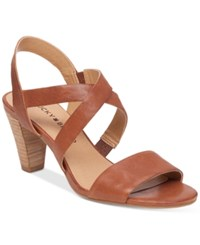 Lucky Brand Pacora Strappy Dress Sandals Women's Shoes Almond