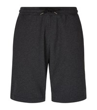 Derek Rose Devon Loopback Sweat Shorts Male Dark Grey