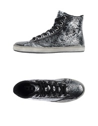 Cult High Tops And Trainers Silver