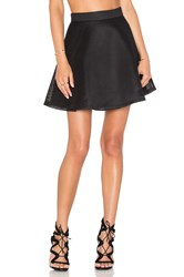 Blq Basiq Mesh Skirt Black