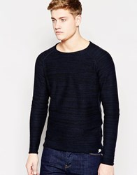 Jack And Jones Jack And Jones Crew Neck Knitted Jumper Black