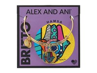 Alex And Ani Romero Britto Art Infusion Hamsa Yellow Gold Bracelet
