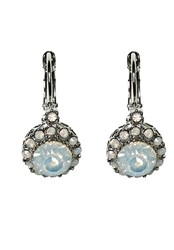 Hallhuber Dangling Gemstone Earrings