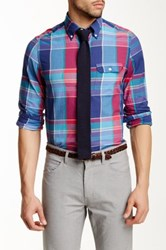 Gant L. Wilshire Madras Check Shirt Blue