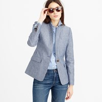 J.Crew Tall Regent Blazer In Chambray