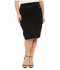 Calvin Klein Plus Plus Size Skirt Black Women's Skirt