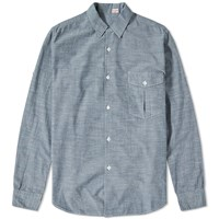 Kaptain Sunshine Safari Shirt Blue