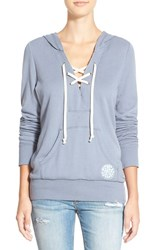 Junior Women's Rip Curl 'Simply Surf' Lace Up Hoodie