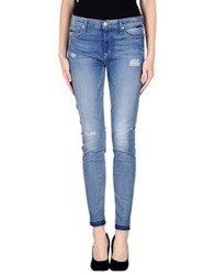 Hudson Denim Pants Blue