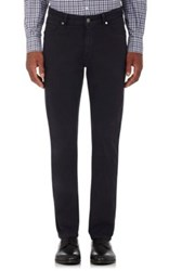 Ermenegildo Zegna Men's Five Pocket Jeans Dark Grey