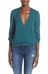 Women's Leith Long Sleeve Surplice Top