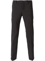 Dondup Straight Leg Trousers Grey