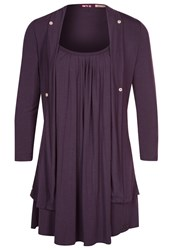 Khujo Long Sleeved Top Purple