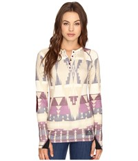 Burton Expedition Wool Henley Vision Quest Women's T Shirt Multi