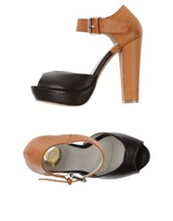 Giorgia And Johns Sandals Dark Brown