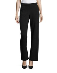 Eileen Fisher Solid Flared Pants Charcoal