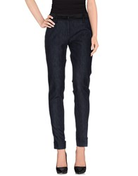 Blugirl Folies Denim Denim Trousers Women Blue
