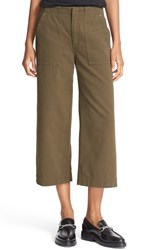 Rag And Bone Women's Jean 'Denny' Crop Wide Leg Pants