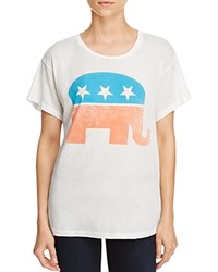 Wildfox Couture Republican Party Animal Tee Vintage Lace