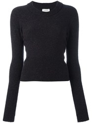 Christophe Lemaire Round Neck Jumper Brown
