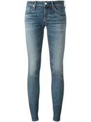 Citizens Of Humanity Low Rise Skinny Jeans Blue