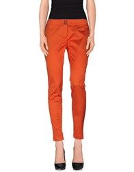 Iceberg Trousers Casual Trousers Women Rust