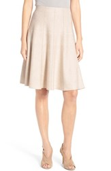 Nic Zoe Women's Paneled Twirl Skirt Rainy Day
