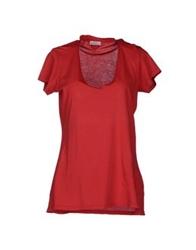 Original Vintage Style Short Sleeve T Shirts Red
