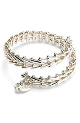 Women's Alex And Ani 'Vintage 66' Chain Wrap Bracelet Silver