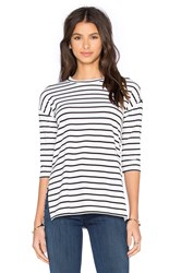 Bcbgeneration Side Slit Tee White