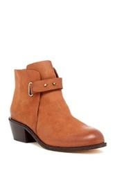 Cynthia Vincent Humor Ankle Boot Brown