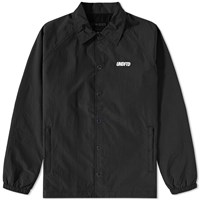 Undefeated Vented Coaches Jacket Black