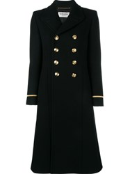 Saint Laurent 70'S Military Coat Black