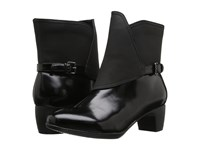 Trotters Stormy Black Box Leather Women's Boots