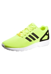 Adidas Originals Zx Flux Trainers Electric Neon Yellow