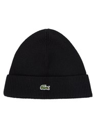 Lacoste Knitted Cap Black