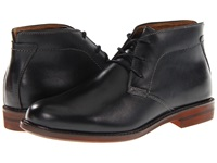 Florsheim Doon Chukka Boot Black Smooth Leather Men's Lace Up Boots