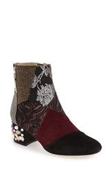 Bettye Muller Women's 'Cyd' Bejeweled Mixed Finish Bootie