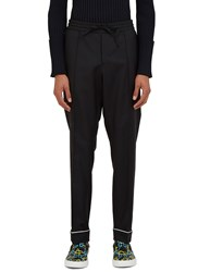 Valentino Straight Leg Pyjama Pants Black