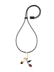 Marni Abstract Necklace Metallic
