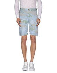 At.P. Co At.P.Co Trousers Bermuda Shorts Men Sky Blue