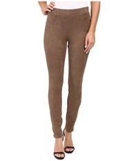 Karen Kane Faux Suede Pants Mushroom Women's Casual Pants Gray