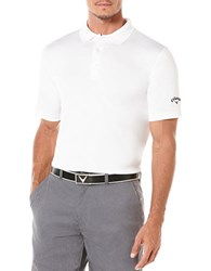 Callaway Athletic Polo White