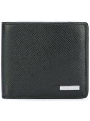 Hugo Boss Textured Portfolio Wallet Black