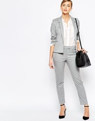 Oasis Tailored Peg Trouser Gray